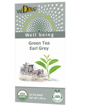 Thé vert Earlgray